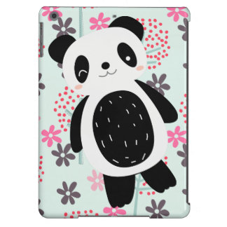 Trees, Flowers, and Panda Bears iPad Air Cases