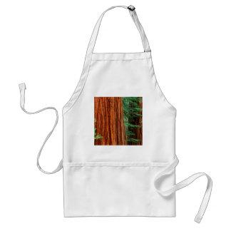 Trees Giant Sequoia Mariposa Grove Yosemite Standard Apron