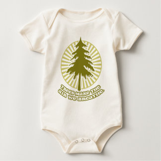 Trees Make Air Infant Organic Creeper