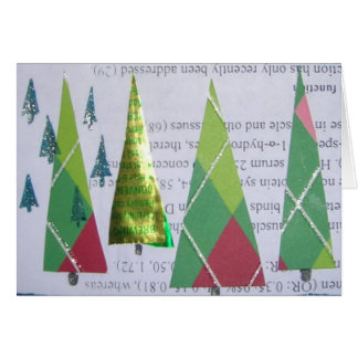 Trees of D and Argyle Card