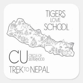 Trek to Nepal - Laptop Sticker