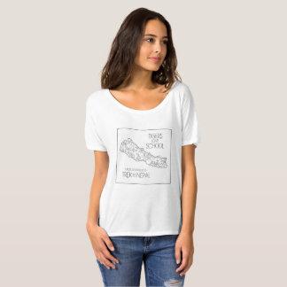 Trek to Nepal - Tigers Love School T-Shirt