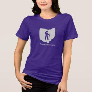 TrekOhio Tee, Women's Relaxed Fit, Short sleeve T-Shirt
