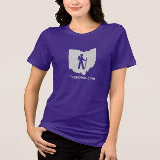 TrekOhio Tee, Women's Relaxed Fit, Short sleeve