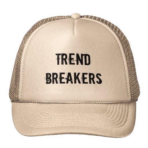 Trend breakers mesh hats