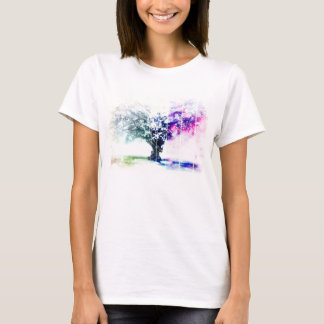 Trendy Abstract Tree T-Shirt