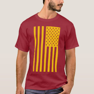 Trendy American Flag Shirt