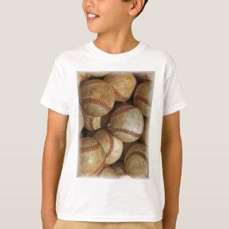 Trendy Baseball Artwork T-Shirt