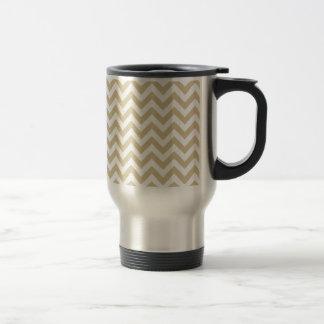 Trendy Chevron Travel Mug
