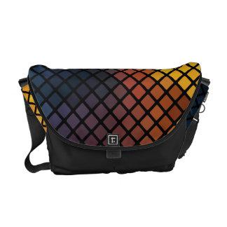 Trendy colorful Mosaic Pattern Messenger Bag