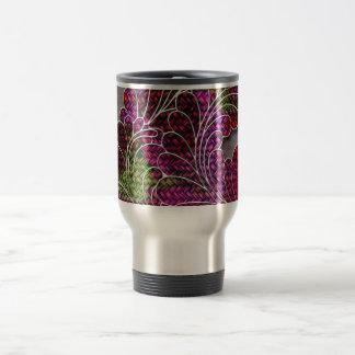 Trendy Colorful Swirly Pattern Travel Mug