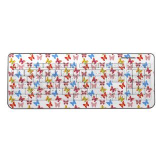 trendy colourful butterflies  Keyboard