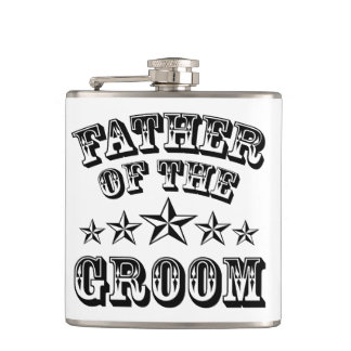 Trendy Father Of The Groom Flask