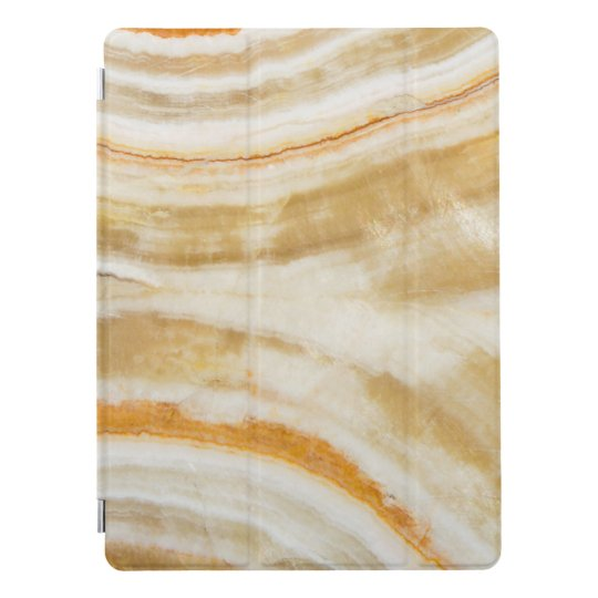 """Trendy Faux Gold Marble Apple iPad Pro Cover 12.9"""""""