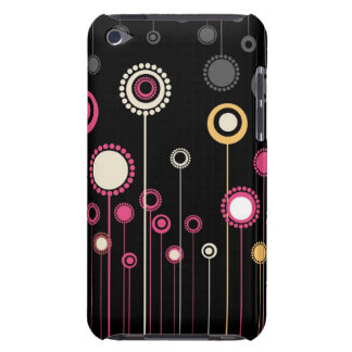 Trendy Floral Decor  Barely There iPod Cover