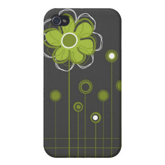 Trendy Floral Decor  Cases For iPhone 4