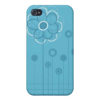 Trendy Floral Decor  iPhone 4/4S Covers