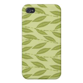 Trendy Floral Decor  iPhone 4 Cover