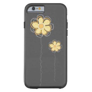 Trendy Floral Decor iPhone 6 Tough iPhone 6 Case