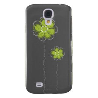 Trendy Floral  Galaxy S4 Case