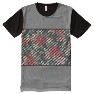 Trendy Floral Tee All-Over Print T-Shirt