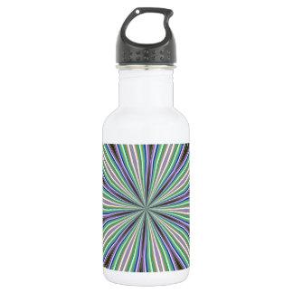 Trendy Kaleidoscope Editable Design 532 Ml Water Bottle