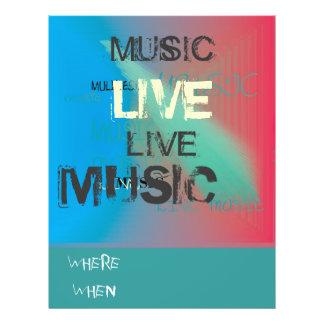 Trendy Live Music>Flyer 21.5 Cm X 28 Cm Flyer