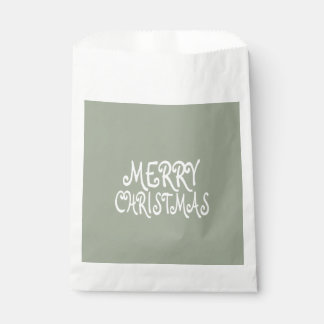 Trendy Merry Christmas Favor Bags Favour Bags