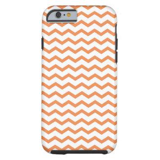 Trendy Orange Chevron Pattern.ai Tough iPhone 6 Case