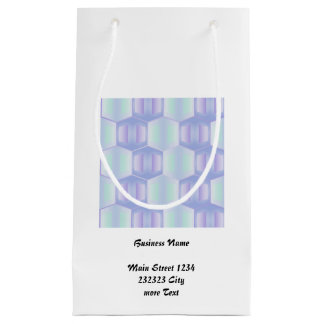 trendy pastel pattern 01d (I) Small Gift Bag