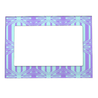 trendy pastel pattern 03C (I) Magnetic Picture Frame
