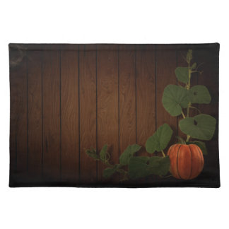 Trendy Placemat pumpkin harvest Halloween