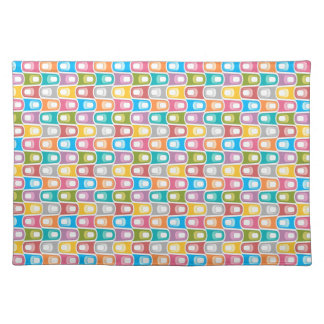 Trendy Placemat Retro pastel pretty