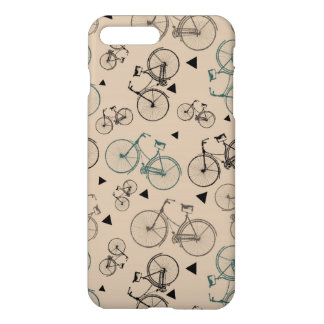 Trendy Retro Style Bicycles Pattern iPhone 8 Plus/7 Plus Case