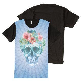Trendy Skull Fun Shirt All-Over Print T-Shirt