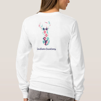 Trendy Southern Creatives Logo in Aztec T-Shirt