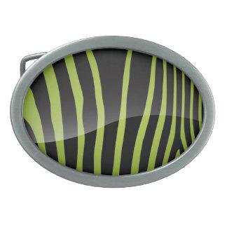 Trendy Zebra Stripes Belt Buckle