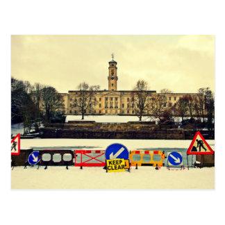 Trent Building , University of Nottingham, Winter Postcard