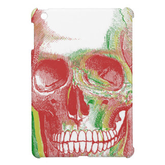 Tri-color Rasta Skull iPad Mini Case