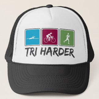 Tri Harder (Triathlon) Trucker Hat