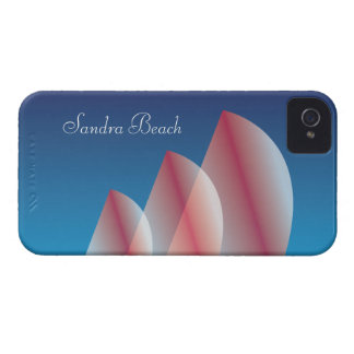 Tri-Sail Translucent Blue Sky personalized iPhone 4 Cover