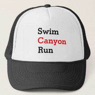 Triahtlon cap Swim Canyon manage