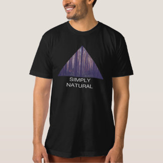 """Triangle Forest - """"Simply Natural"""" T-Shirt"""