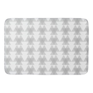 Triangle Tribal Pattern Bath Mats