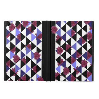 Triangles and Mums by KCS iPad Folio Case