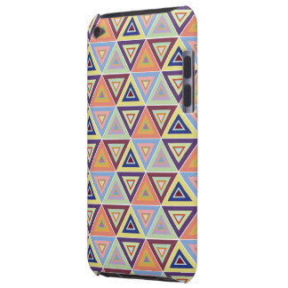 triangular pattern tile ipod touch case