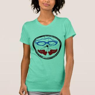 Triathlon cool artistic logo T-Shirt