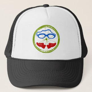 Triathlon Face Trucker Hat