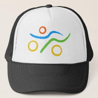 Triathlon Freak logo Trucker Hat
