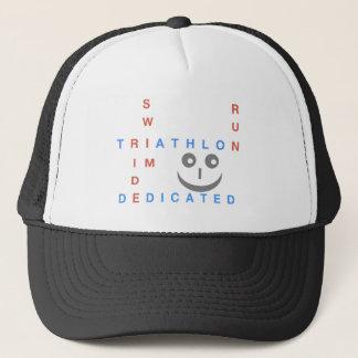 Triathlon I'm Dedicated Trucker Hat